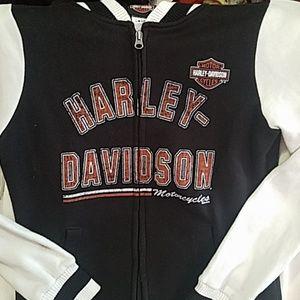 Womens Harley Davidson Zip up
